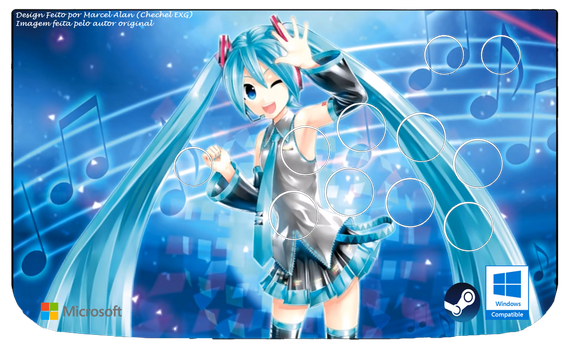Hatsune Miku Project DIVA X Arcade Art (Windows) by ChechelEXGBR