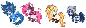Teeny weeny pony adoptables OPEN [OPEN] by Prince-Lionel