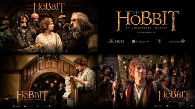 The Hobbit: An Unexpected Journey - Wallpaper Set by aSkilletPanhead