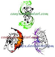 COMMISSION set 2 by Canyx