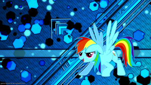 Rainbow Dash Wallpaper 5 by Game-BeatX14