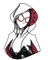 Spider-Gwen by Adam-Clowery