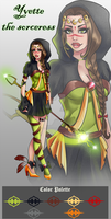 (closed) Cash Adopt - Yvette the sorceress $25 by CherrysDesigns