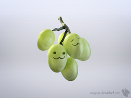 Green Green Grapes by mogcaiz