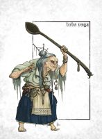 Baba Yaga by mr-nick