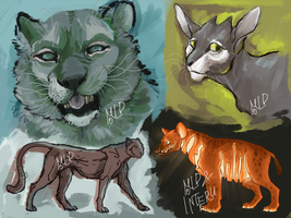 October WIPs by Moldovorot