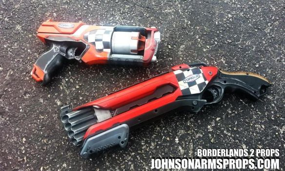 Borderlands 2 Props - Torgue Style by JohnsonArmsProps