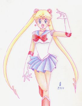 Sailor Moon S by SebastianWarbler