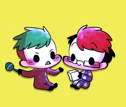Just usual baby version of them by Vey-kun