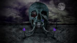 Skull House by nomadOnWeb