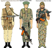 Arab Armies -Egypt and Palestine by camorus----234