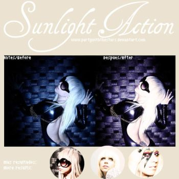 Sunlight Action by PartyWithTheStars