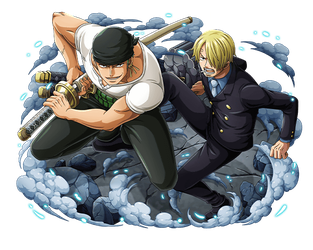 Zoro and Sanji by bodskih