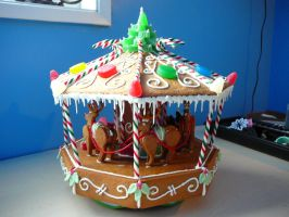 Gingerbread Carosel 2 by DavidArsenault