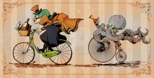 otto's sweet ride by BrianKesinger