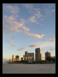 Sunset: The Gold Coast by AEvision