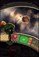 LT - Marvin The Martian by DeBellini
