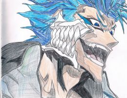 +Grimmjow Jaggerjaques+ by embryopoets