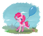 Strollin' in pink by IceCreamSandwich12