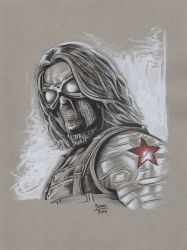 The Winter Soldier from Captain America 2 by AtlantaJones