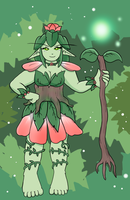 Arborelle - The Goddess of Nature by pocket-arsenal