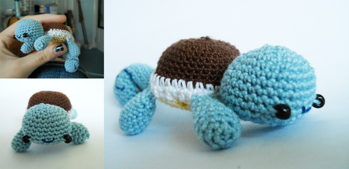 Squirtle Amigurumi by TheSmall-Stuff
