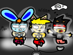The gamers by Mr-Evilness