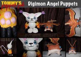 Digimon Angel Puppets (tutorials available) by TommyGK