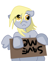 Save Derpy by fluffpuffgerbil