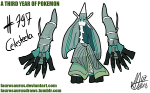 A third year of pokemon: #797 Celesteela