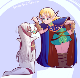 Lodoss -commission- by SnakeGalSkye