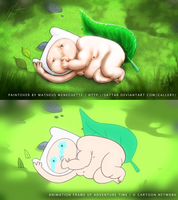 Paintover - Adventure Time - Boom Boom Baby by SaTTaR