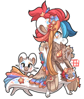 #535 Blessed Tale BB w/m - Selkie by griffsnuff