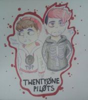 Twenty One Pilots by Griff-on