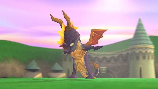 Spyro Dabs on the Haters by SpongeDragon15