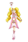 Pretty Cure Max Heart - Cure Shiny Luminous by Laura-Moon97