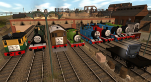 The Engines' Reaction To TTMRE by TB7Studios