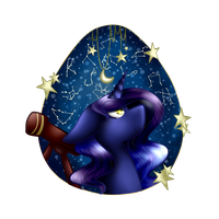 Starlight Dreams Medallion Commission by FernwolfStar