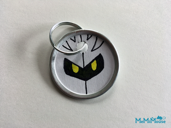 Meta Knight Keychain by MeMiMouse