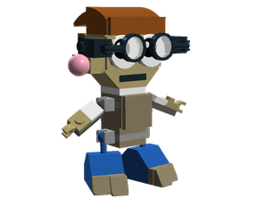 LEGO Fairly Odd Mixes: Elmer by Luqmandeviantart2000