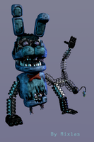 Mangled Mini Bonnie by Mixlas2