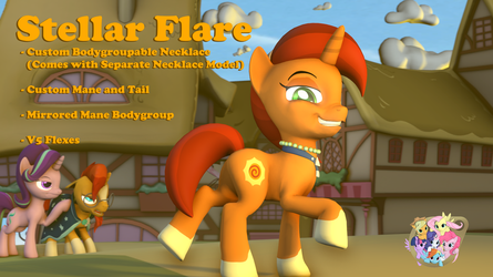 Stellar Flare (Model Download) by PercyTechnic