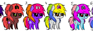 free pony adopts.closed. by Odscene