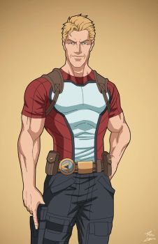 Steve Trevor (Earth-27) commission by phil-cho