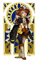 steampunk maybelle by Apomix