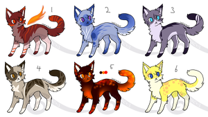 [Closed] 55p or OTA Cats 2 by EternalFyre413