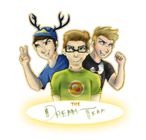 the dream team by ThatCreativeCat