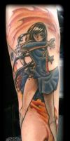 Pinup by state-of-art-tattoo