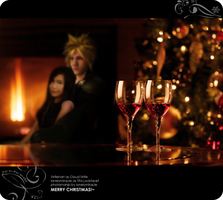 Cloud and Tifa's Christmas by lonelymiracle