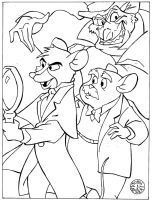 The Great Mouse Detective by Batman4art